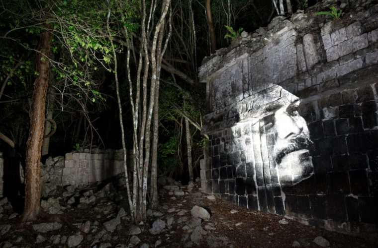street art jungle maya